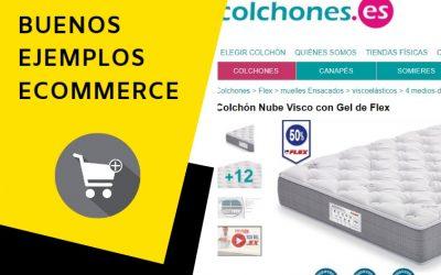 Colchones.es: buen ejemplo de tienda online de colchones