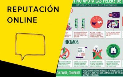 La Infografía de Heineken usada para resolver una caso de reputación Online